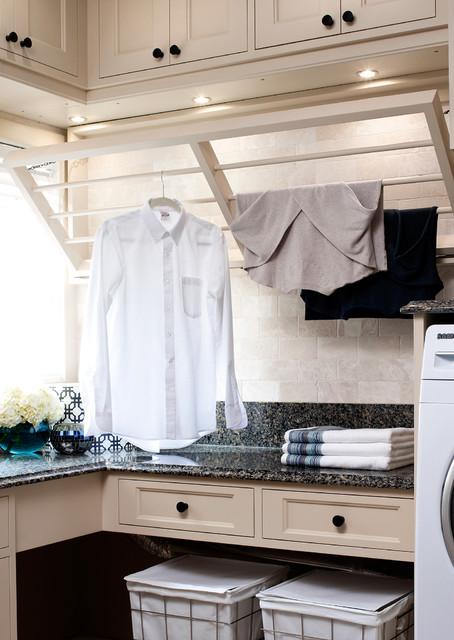 NKBA Award-Winning Laundry Room traditional-laundry-room