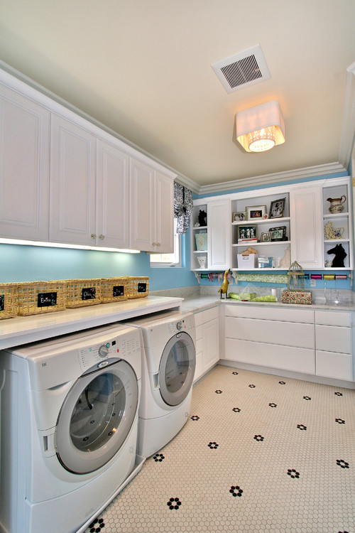 No 2 contemporary laundry room