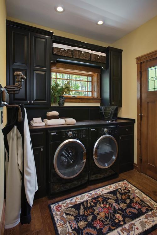 North Carolina Timber Frame Home - Laundry Room