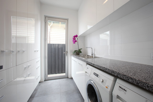 Northcote contemporary laundry room melbourne by for Modern laundry ideas