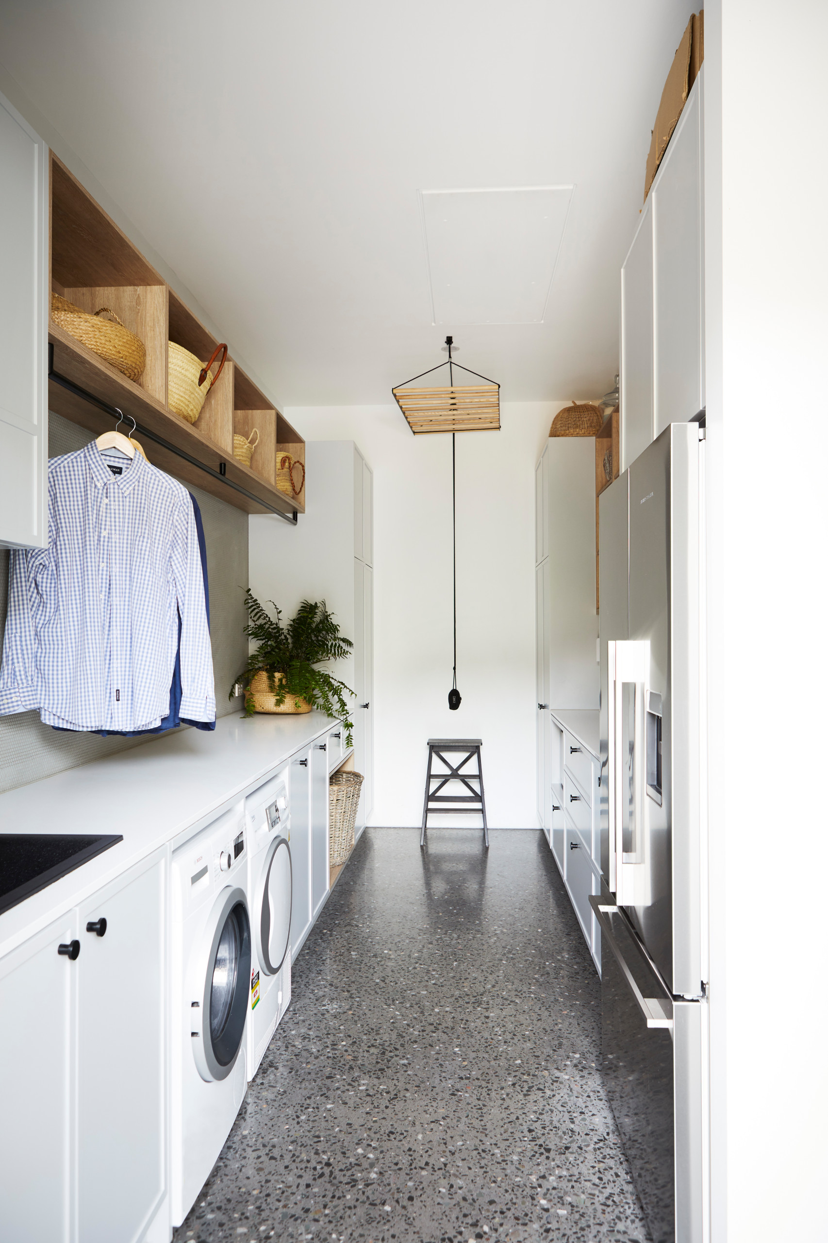 75 Beautiful Galley Laundry Room Pictures Ideas March 2021 Houzz