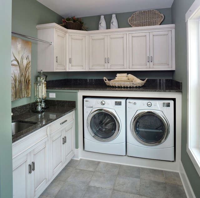 Olentangy Falls ~ Delaware, OH traditional-laundry-room