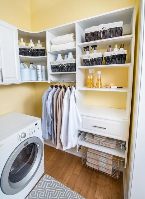Organized Living Room: Organized Living Classica Laundry Room Storage