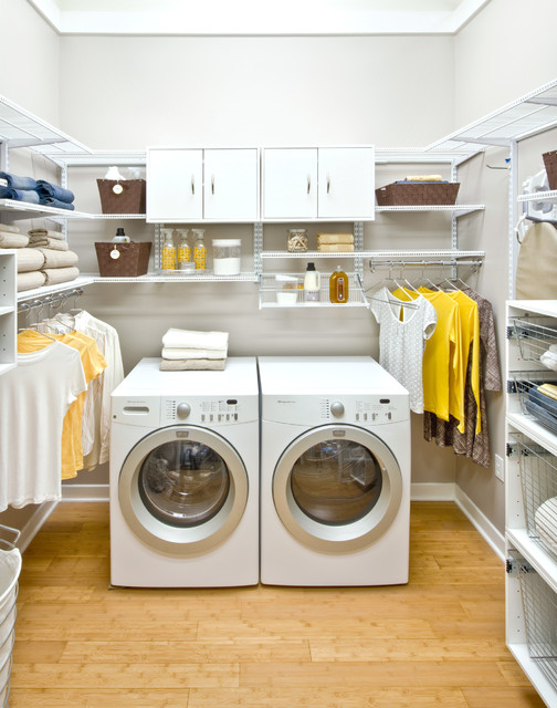 Organized Living Freedomrail Laundry Room Traditional Laundry Room Cincinnati By
