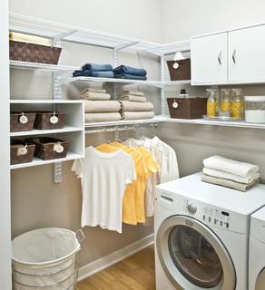 Organized Living Freedomrail Laundry Room Traditional Laundry Room Cincinnati By Organized Living Houzz