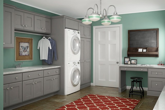 Other Rooms - Transitional - Laundry Room - by Crystal Cabinets