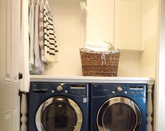 Our Mini Manor contemporary-laundry-room