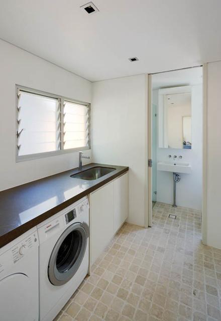 Palm beach house 2 beach style laundry room sydney for Chapman laundry