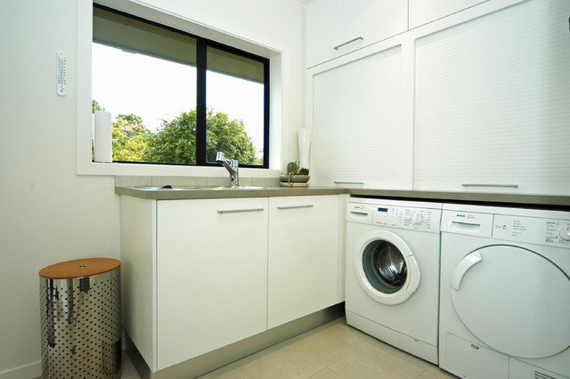 Parnell house contemporary-laundry-room