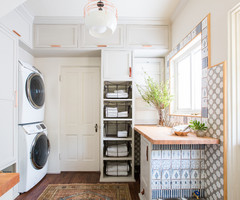 Before and After: 5 Laundry Rooms That Make Washday More Fun