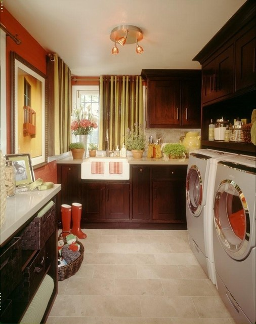 Pasadena Showcase House traditional-laundry-room