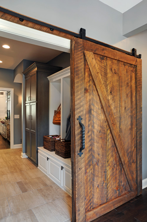What Color Stain On Barn Door