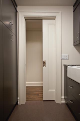 Pocket Door Kits Modern Laundry Room Toronto By K