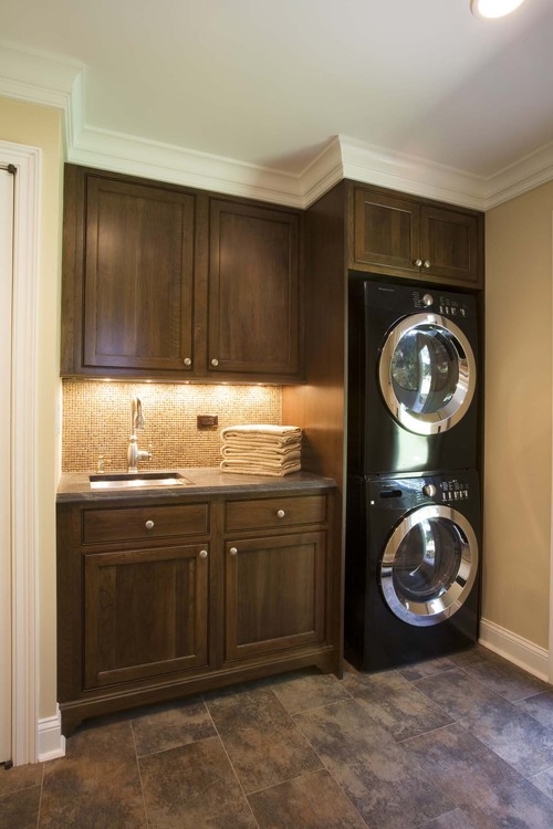 unitized vs two piece stack washer dryer laundry reviews ratings prices. Black Bedroom Furniture Sets. Home Design Ideas