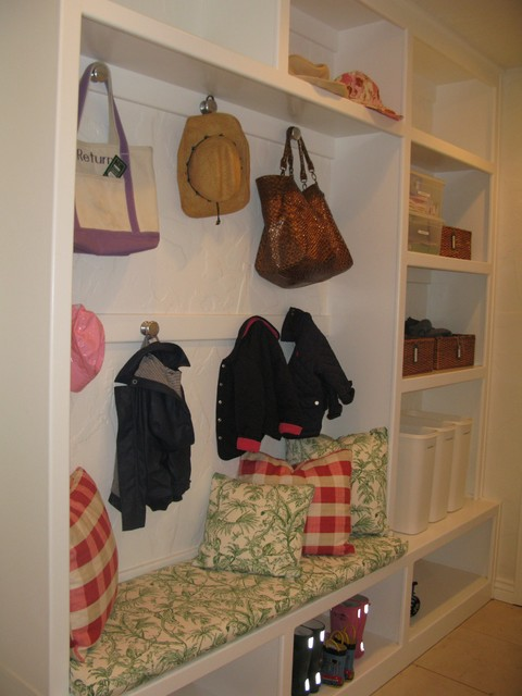 Preppy Mudroom traditional-laundry-room