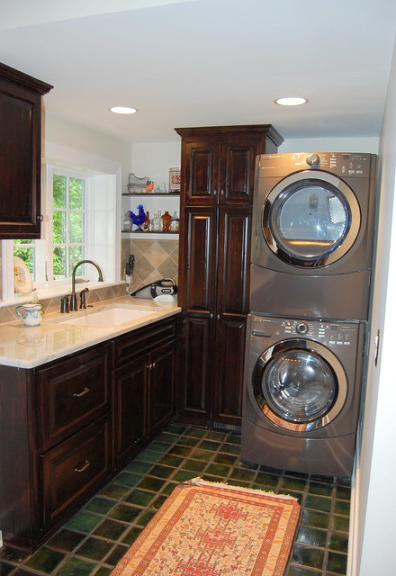 private residence eclectic-laundry-room