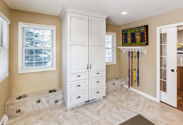 Racine Mud Room Addition For Dogs Traditional Laundry