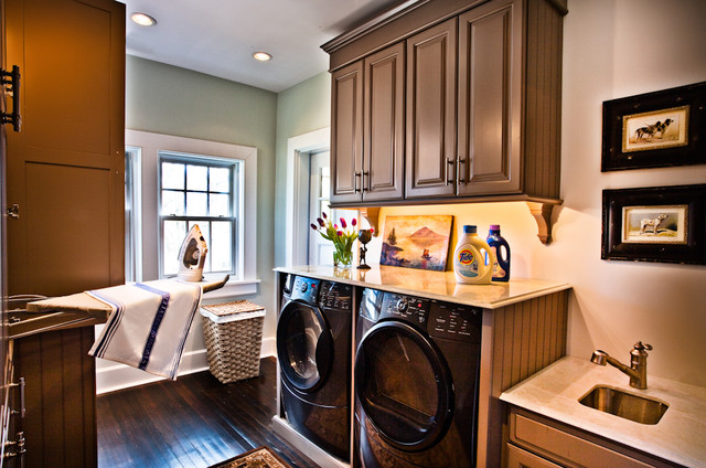 Rausch House traditional laundry room