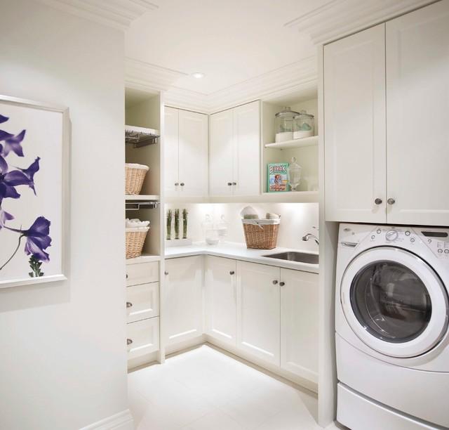 Regina Sturrock Design Inc. Classicism With a Twist traditional-laundry-room