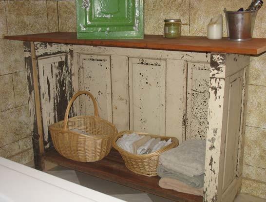 Repurposed panel door furniture rustic-laundry-room & Repurposed panel door furniture