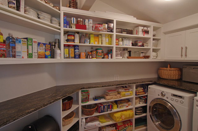 Residential Kitchens Pantry Laundry