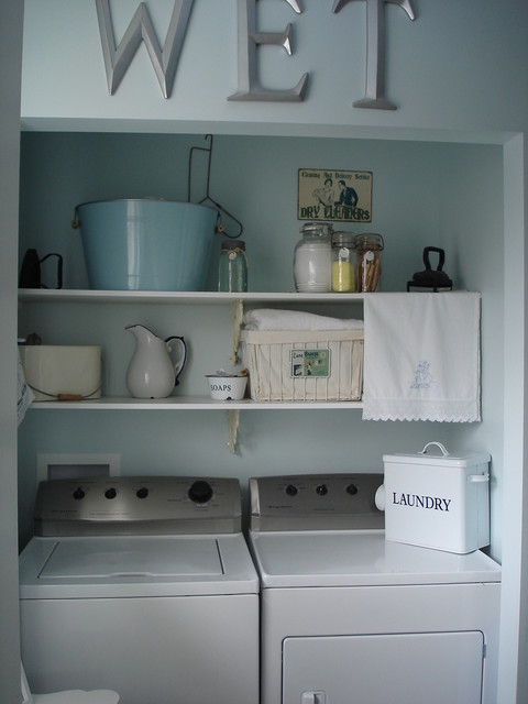 Restyled Home eclectic-laundry-room