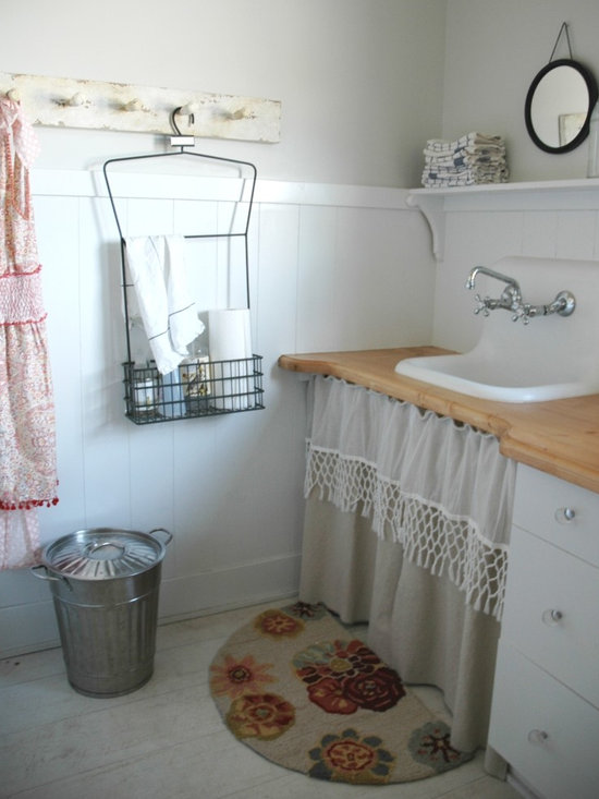 Shabby Chic Laundry Room Design Ideas Pictures