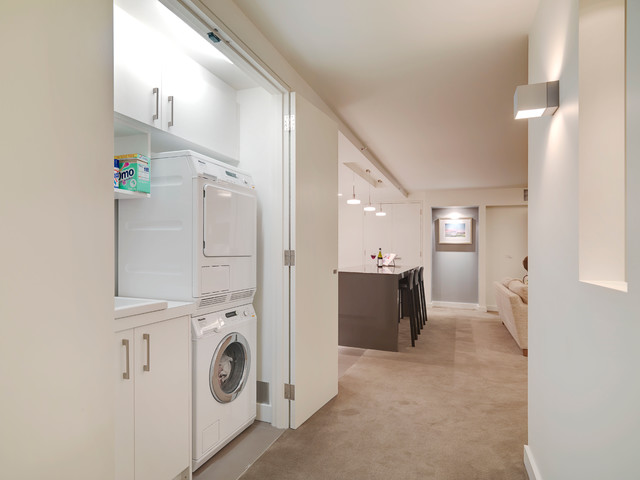 Room With A View Modern Laundry Room Melbourne By