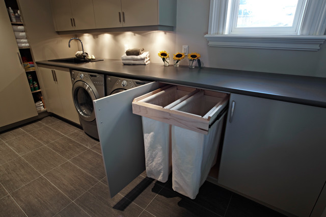 Rosedale Restoration - Contemporary - Laundry Room ...