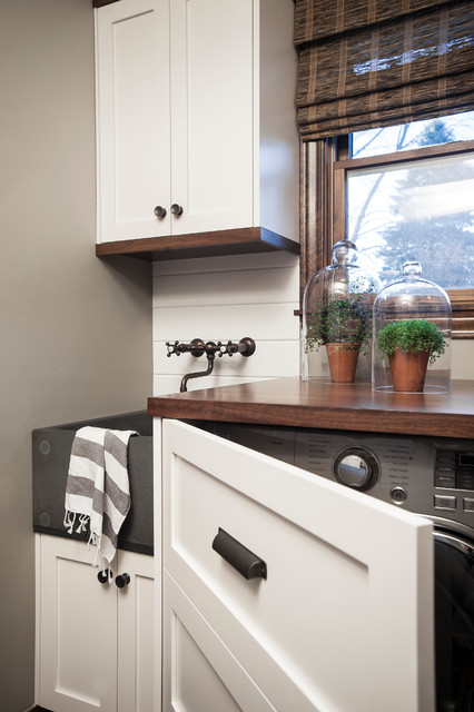 Rustic Kitchen Remodel rustic-laundry-room