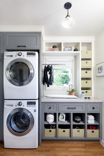 San Roque Modern - Transitional - Laundry Room - Santa Barbara