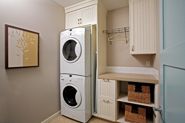 Secondary Working Spaces contemporary laundry room