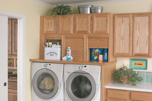 Seifer Laundry Room Ideas - Traditional - Laundry Room - new york - by Seifer Kitchen Design Center