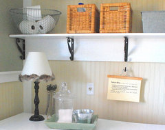 shabby nest traditional-laundry-room