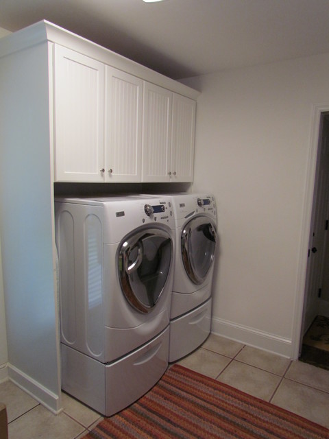 Shenandoah Charleston White - Watson Laundry - Traditional - Laundry Room - charlotte - by Lowes ...
