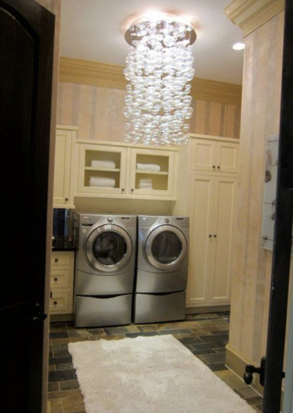 Show House modern-laundry-room