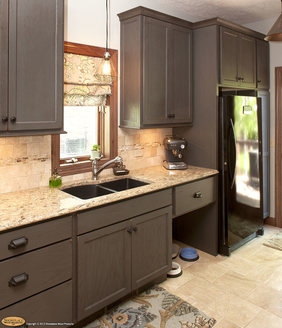 Showplace wood cabinets