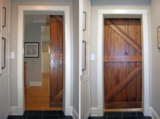 Sliding Barn Door - Modern - Laundry Room - chicago - by Kipnis Architecture + Planning