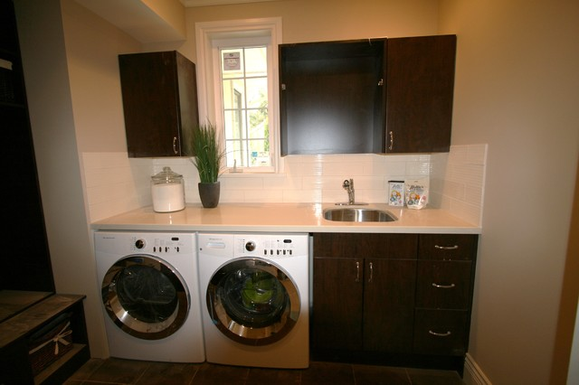 South Borough traditional-laundry-room