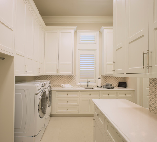 Southern Transitional - Transitional - Laundry Room ...