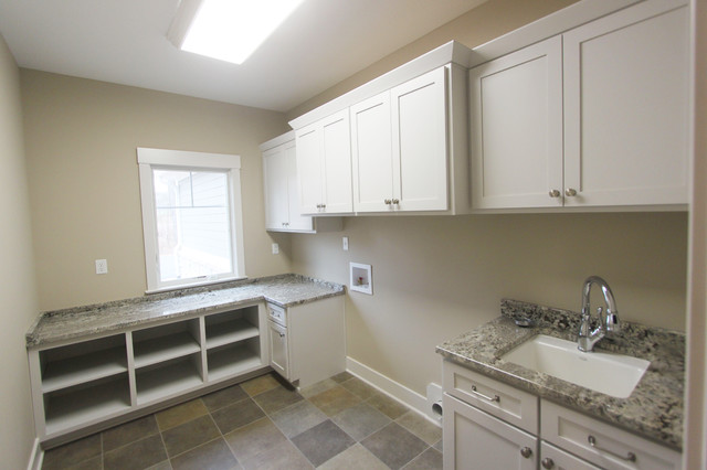 Spacious Living traditional-laundry-room