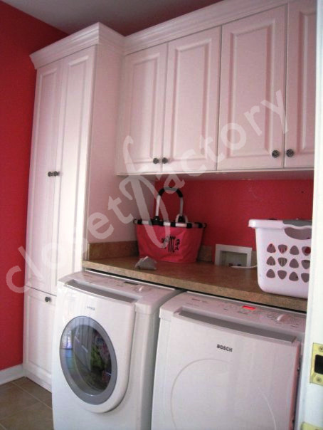 spice up your laundry room with color traditional