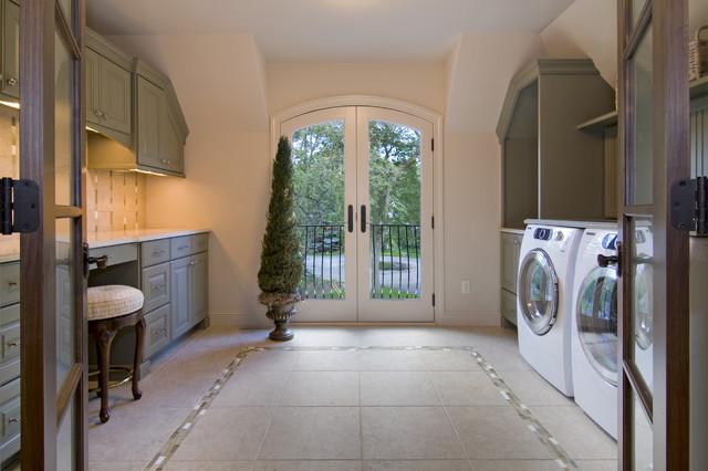 Spur Road - Edina, MN traditional-laundry-room