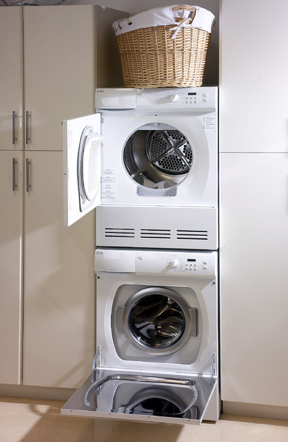 European Laundry Cupboard