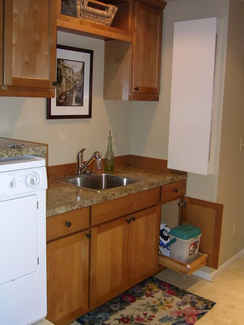 of building the counter tops in my new laundry room at desk height ...