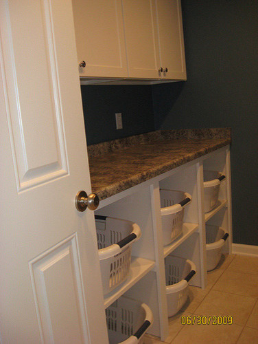 storage solutions  laundry room
