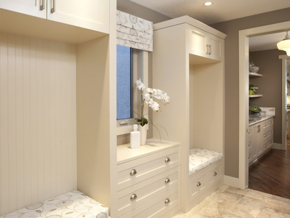 Storeage Examples contemporary-laundry-room