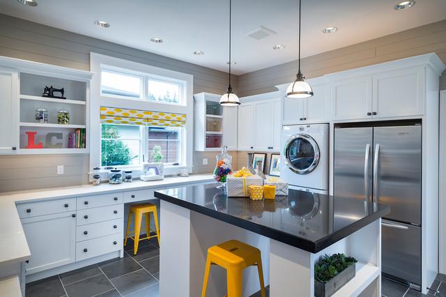 Street of Dreams 2013:  TTM Custom Home contemporary-laundry-room