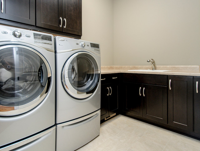 Summit Estates contemporary-laundry-room