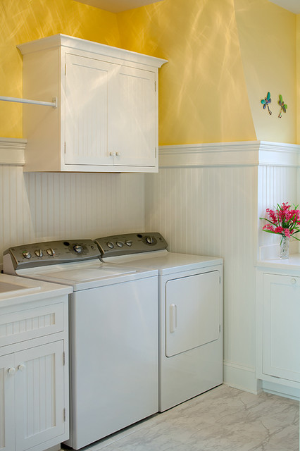 Sunsweet Hill - Dutch Colonial traditional-laundry-room